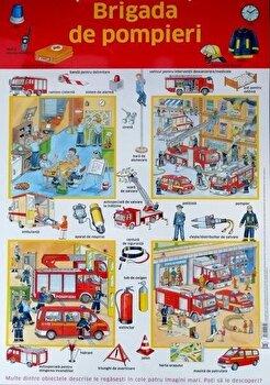 Plansa – Brigada de pompieri/Nelson de la DPH