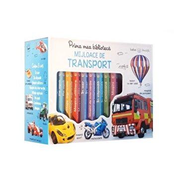 Cutie. Prima mea biblioteca. Mijloace de transport. Bebe invata (8 carticele)/*** de la Litera