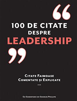 Imagine 100 De Citate Despre Leadership