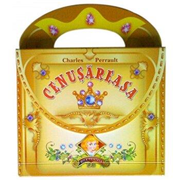 Cenusareasa - pe carton cu posetuta/Charles Perrault