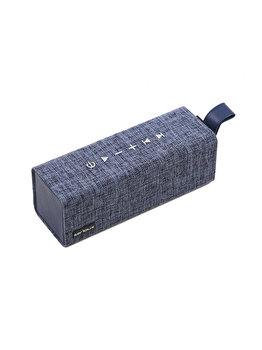 Boxa portabila, Serioux Wave Cube, 12 W, Bluetooth,SRXS-TP12W2-SL, Albastru de la SERIOUX