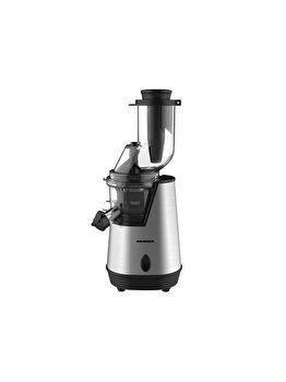 Storcator de fructe cu melc, Heinner, 200 W, 0.6 L, 85 dB, HSJ-200X, inox/plastic, Gri de la Heinner