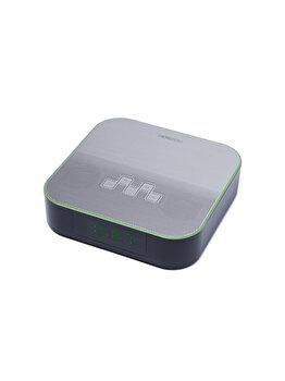 Radio FM cu ceas, Horizon, 6 W, BT, AUX, USB, HAV-P4180, Negru