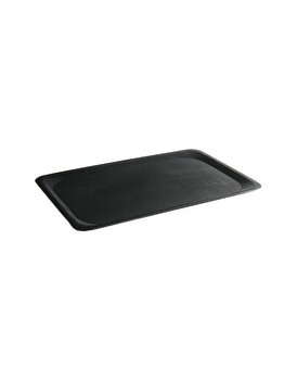 Tava pentru servire rectangulara, Hendi, 37 x 53 cm, 508619, poliester, Negru de la Hendi