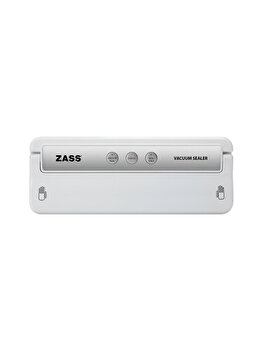 Aparat de vidat alimente, Zass, 155 W, ZVS 02, Alb
