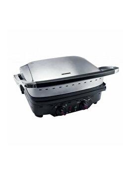 Gratar electric Heinner Master Collection HEG-1800XMC, 1800 W, Functie pastrare la cald, Placa grill detasabila de la Heinner