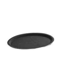 Tava pentru servire ovala, Hendi, 20 x 26.5 cm, 508725, poliester, Negru de la Hendi
