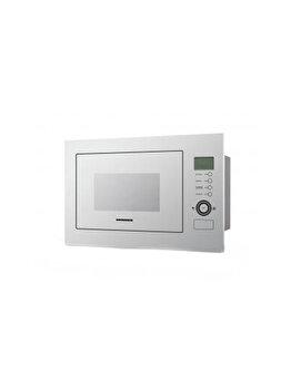 Cuptor cu microunde incorporabil, Heinner, 900 W, 25 L, Control touch, HMW-25BIGWH, sticla, Alb de la Heinner