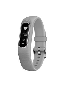 Bratara fitness Vivosmart 4, Garmin, 122 – 188 mm, Small/Medium, 010-01995-22, Gri de la GARMIN