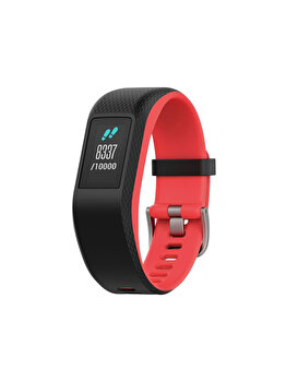 Bratara fitness Vivosport, Garmin, GPS, 122-188 mm, Small/Medium, 010-01789-21, Rosu de la GARMIN