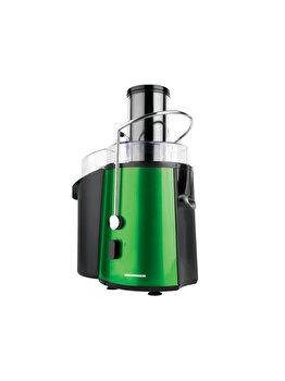 Storcator de fructe si legume, Heinner, 1000 W, 2 L, 2 viteze, XF-1000GRSP, inox/plastic, Verde