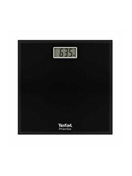 Cantar de persoane Tefal Premiss, PP1060V0, electronic, 150kg, sticla, Negru de la Tefal