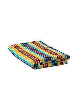 Prosop de plaja cu dungi rainbow, Heinner, 70 x 140 cm, HR-TWSTR140-RWB, bumbac/poliester, Multicolor de la Heinner