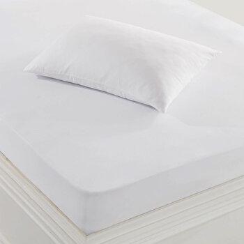 Protectie pentru perna, Marie Claire, bumbac/poliester, 50 x 70 cm, 153MCL9003, Alb