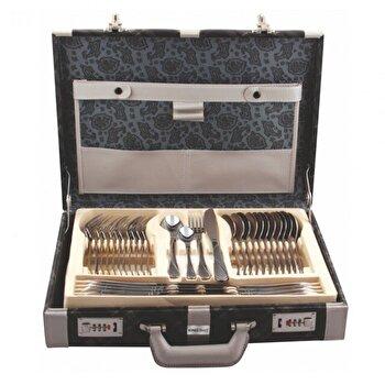 Set tacamuri KingHoff, inox satinat, 72 de piese, KH-3572, Argintiu de la KING Hoff