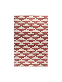 Covor Reversibil Modern & Geometric Titor, Decorino, C97-032706, 160 x 235 cm, polipropilena, Multicolor de la Decorino