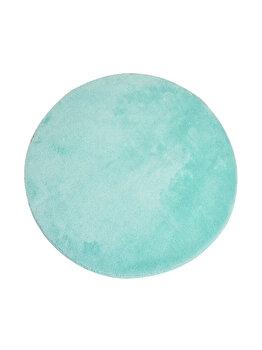 Covor de baie, Chilai Home, 90 cm, 359CHL1717, acrilic, Albastru de la Chilai Home