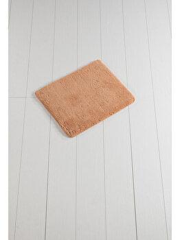 Covor de baie, Chilai Home, 50 x 60 cm, 359CHL1420, acrilic, Portocaliu de la Chilai Home