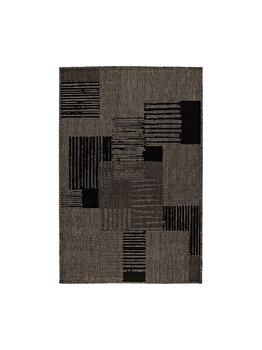 Covor Modern & Geometric Batna, Decorino, C116-031210, 67 x 120 cm, polipropilena, Gri de la Decorino