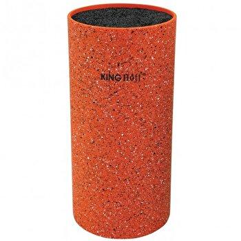 Suport pentru cutite King Hoff, 22 cm, portocaliu, KH-1120, Portocaliu de la KING Hoff