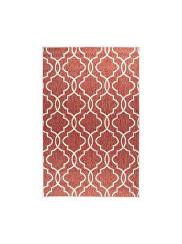Covor Reversibil Modern & Geometric Titor, Decorino, C26-032701, 120 x 180 cm, polipropilena, Multicolor