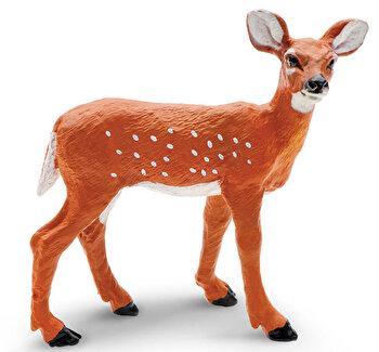 Safari, Figurina Pui de caprioara cu coada alba de la Safari