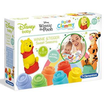Soft Clemmy - Set cuburi Winnie cu carticica