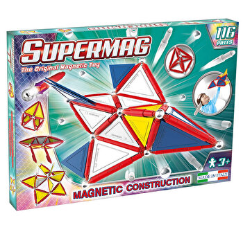 Supermag Primary – Set constructie 116 piese de la Supermag