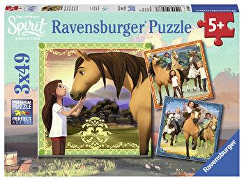 Puzzle Spirit, 3×49 piese de la Ravensburger