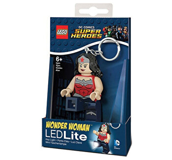 LEGO DC Super Heroes, Breloc cu laterna - Wonder Woman