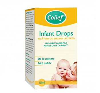 Picaturi cu enzima lactaza Colief Infant Drops, 15 ml de la Colief