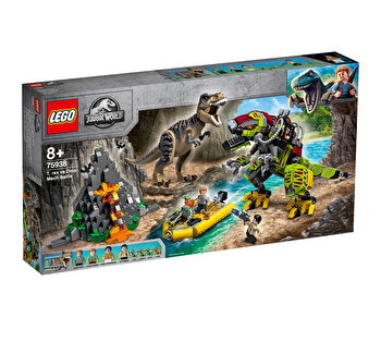 LEGO Jurassic World, Lupta T. Rex contra Dino-Mech 75938 de la LEGO