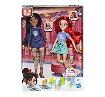 Set papusi Disney Princess Comfy I – Ariel si Pocahontas de la Disney