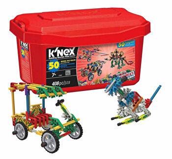 Set de constructie K'nex cu 50 de modele de la K'Nex