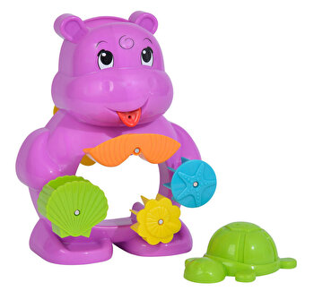 Jucarie de baie ABC, Hipopotam