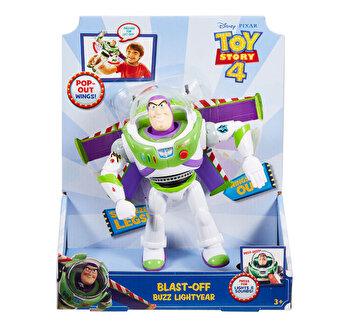 Toy Story 4 – Figurina Buzz Lightyear cu functii de la Toy Story