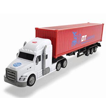 Camion Container cu remorca, Dickie, 42 cm
