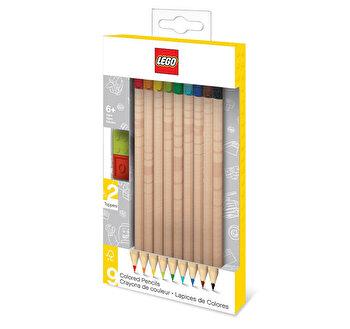 LEGO, Set 9 creioane colorate de la LEGO