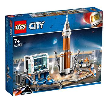 LEGO City, Racheta pentru spatiul indepartat si Centrul de comanda a lansarii 60228 de la LEGO