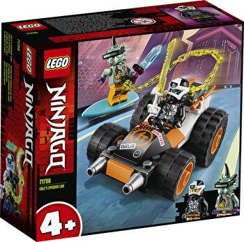 LEGO NINJAGO, Masina de viteza a lui Cole 71706 de la LEGO