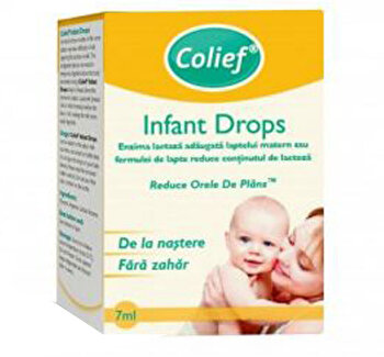 Picaturi cu enzima lactaza Colief Infant Drops 7ml de la Colief