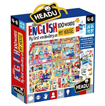 Puzzle Headu - Engleza Nivel Simplu - 100 Cuvinte - Casa Mea