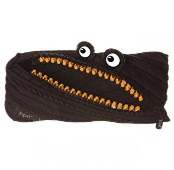 Penar cu fermoar, Zipit Grillz Monster – negru cu dinti aurii de la ZIPIT