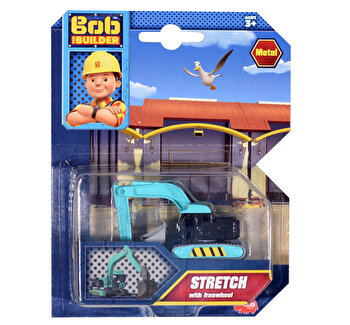 Masinuta de jucarie Stretch Disckie Toys, Bob the Builder