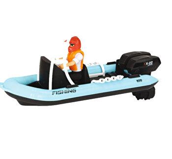 Barcuta de pescuit cu figurina Dickie Toys de la Dickie