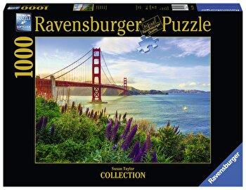 Puzzle Pod Golden Gate, 1000 piese de la Ravensburger