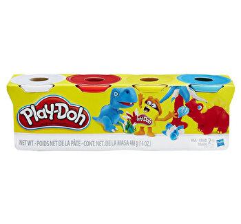 Play-Doh, Set 4 cutii – Culori clasice de la Play-Doh