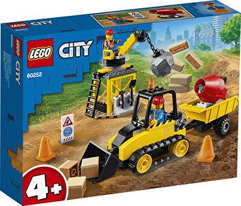 LEGO City, Buldozer pentru constructii 60252 de la LEGO