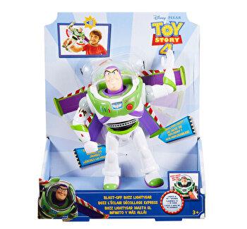 Toy Story 4 – Figurina Buzz Lightyear cu sunete si lumini de la Toy Story