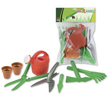Set de joaca Androni pentru gradinarit si nisip cu accesorii sapat si sadit de la Androni Giocattoli